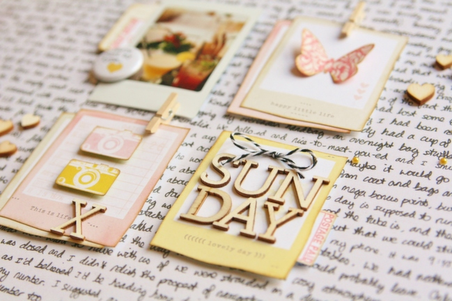 HOW TO HIDE A STORY IN PLAIN SIGHT:: A SCRAPBOOK TUTORIAL BY KIRSTY SMITH