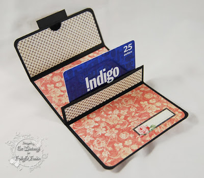 inside gift card holder