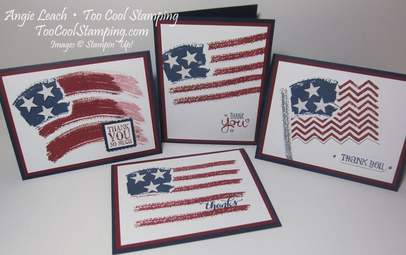 Positively Patriotic Cards