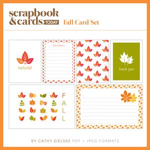 SCT Fall Card Set