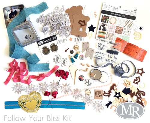 Follow Your Bliss card kit - Maya Road