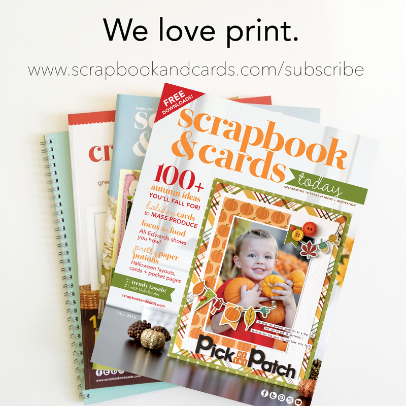 how to send submissions for scrapbook and cards today magazine