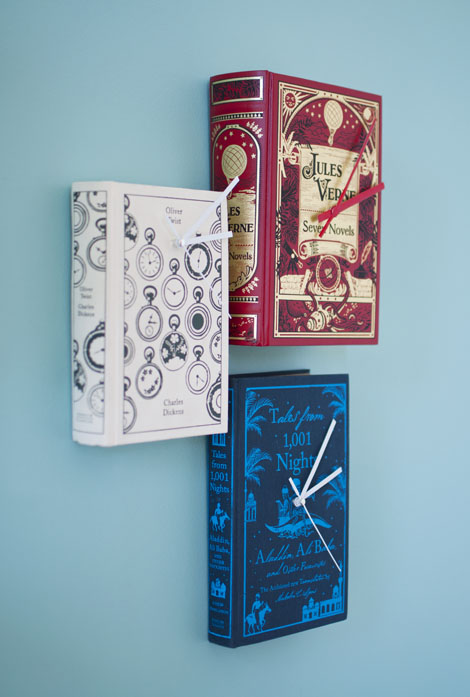 Book Clocks