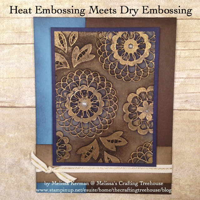 Dry Embossing with Foil
