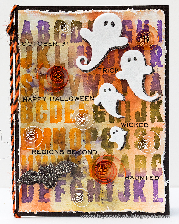 Quilling Friendly Ghost