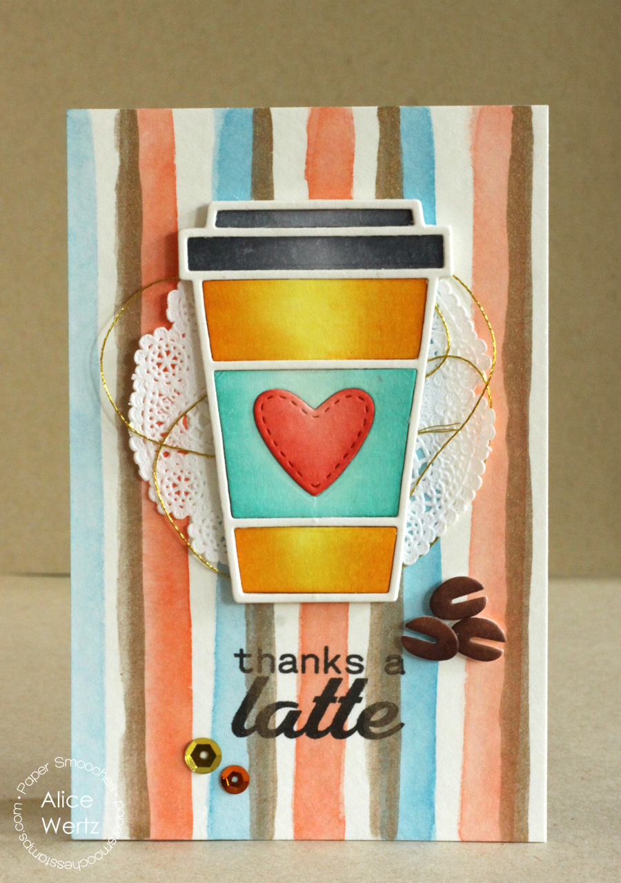 Thanks a Latte card by Alice Wertz