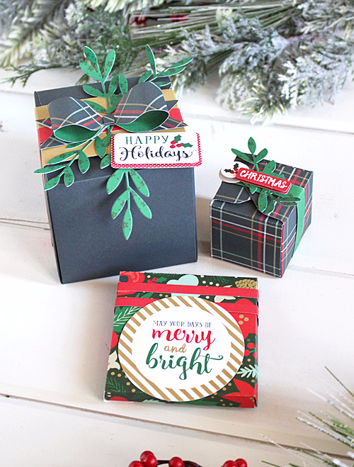 Christmas packages by Kimberly Crawford