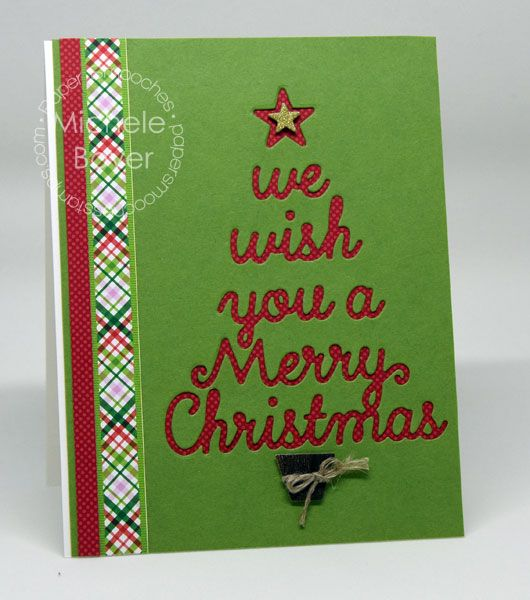 Merry Christmas card by Michele Boyer