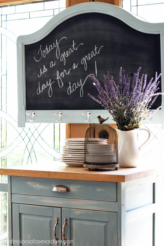 Headboard to Chalkboard