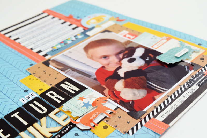 Documenting Everyday Moments by @jbckadams for @scrapbookexpo #scrapbooking #scrapbookexpo #cratepaper #beckiadams