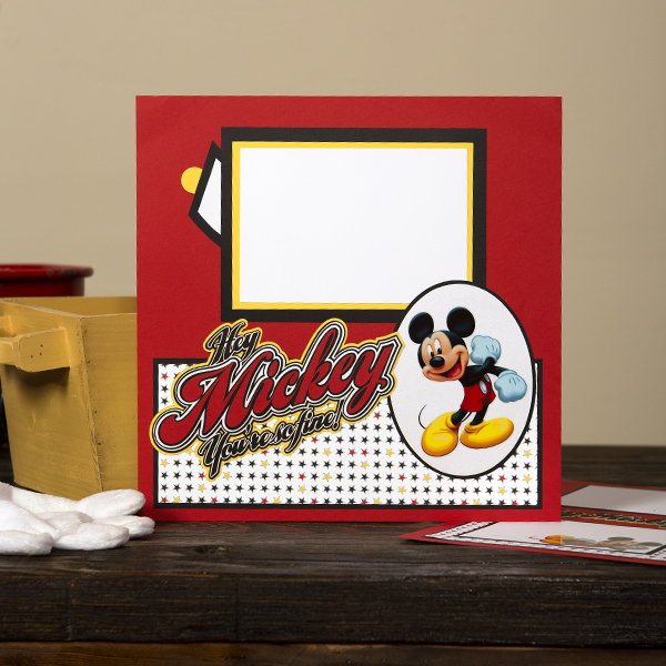 _Hey Mickey Multi-Page Interactive Layout