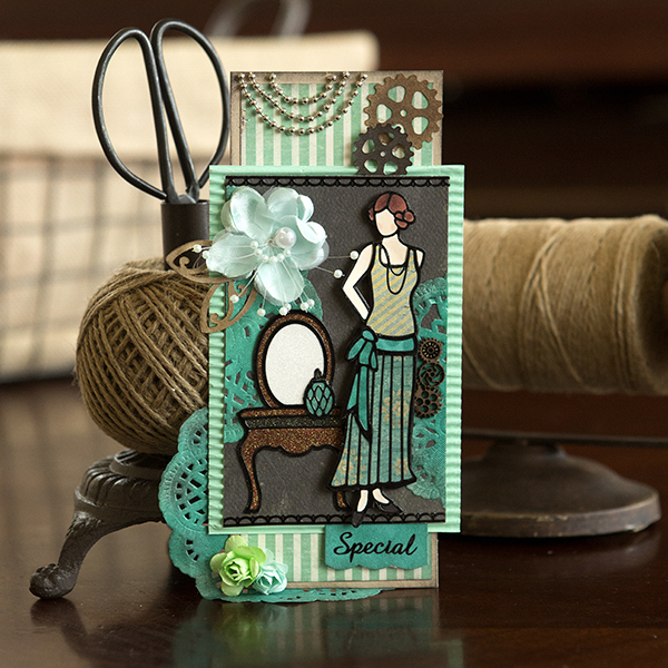 _Mixed Media Vintage Tag