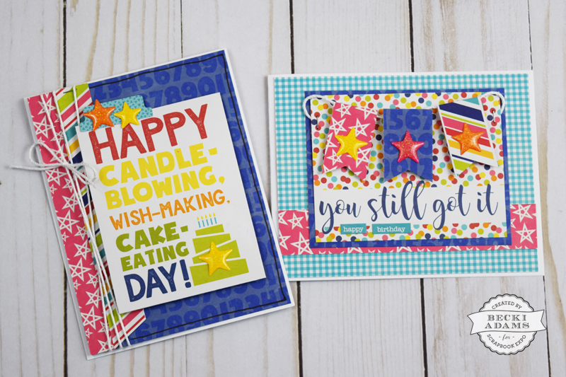 Handmade Cards from 3x4 Cards by @jbckadams for @scrapbookexpo #cardmaking #JillibeanSoup #handmadecards