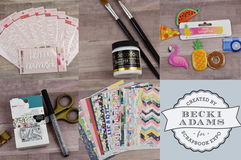 Top 5 products from Creativation 2017 #Stampandscrapbookexpo2017 #creativation2017 #BeckiAdams #top5