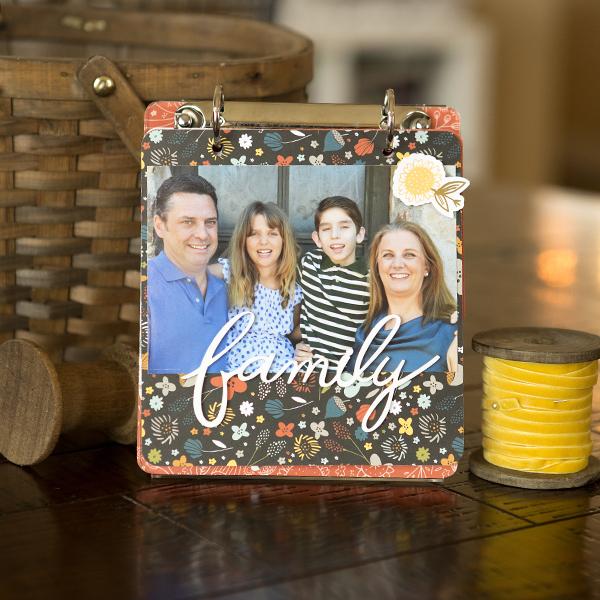 _Family Designer Décor Flip Album