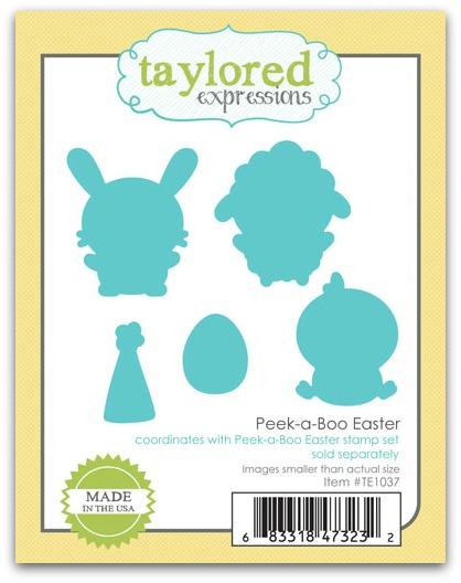 Peek-a-boo Easter Dies