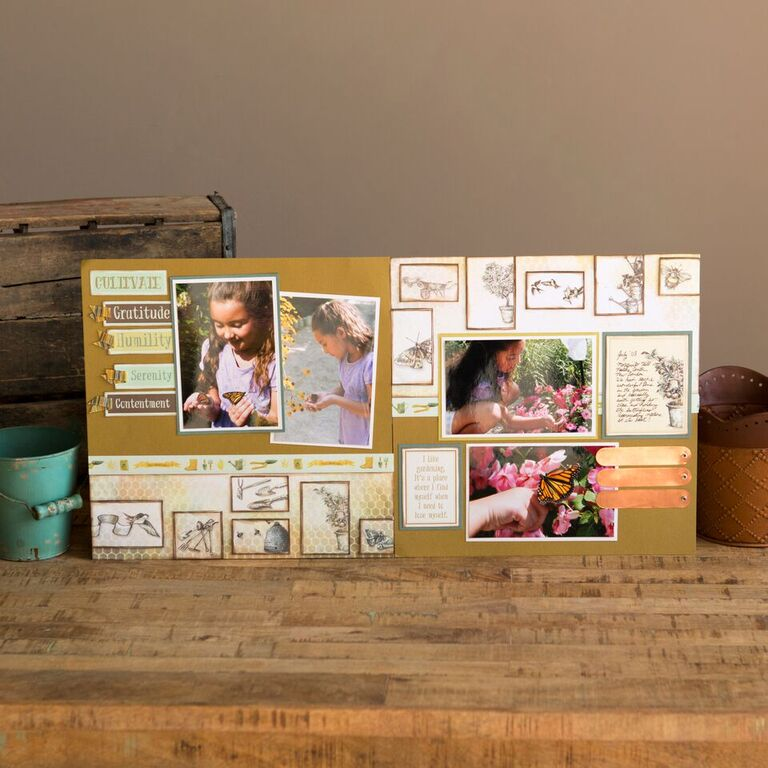 _Scrapbooking Without Scraps - Garden Shed