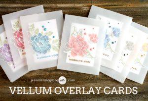 Vellum Overlay Cards