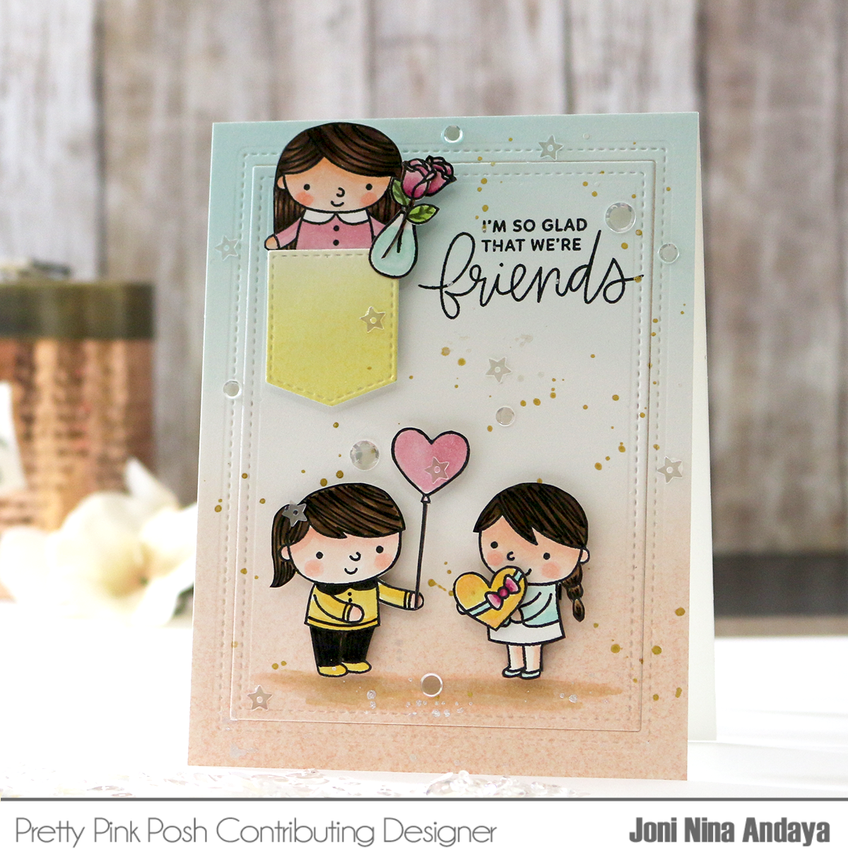Friends card by Joni Nina Andaya
