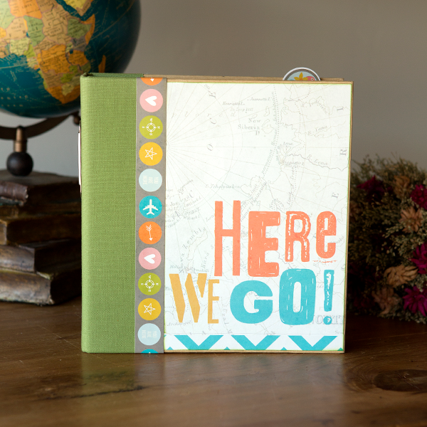 _You Are Here! Sn@p! Travel Binder