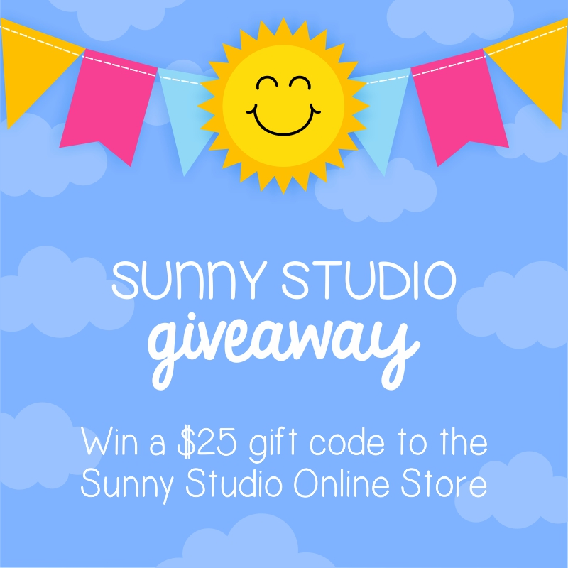 Sunny Studio $25 Giveaway