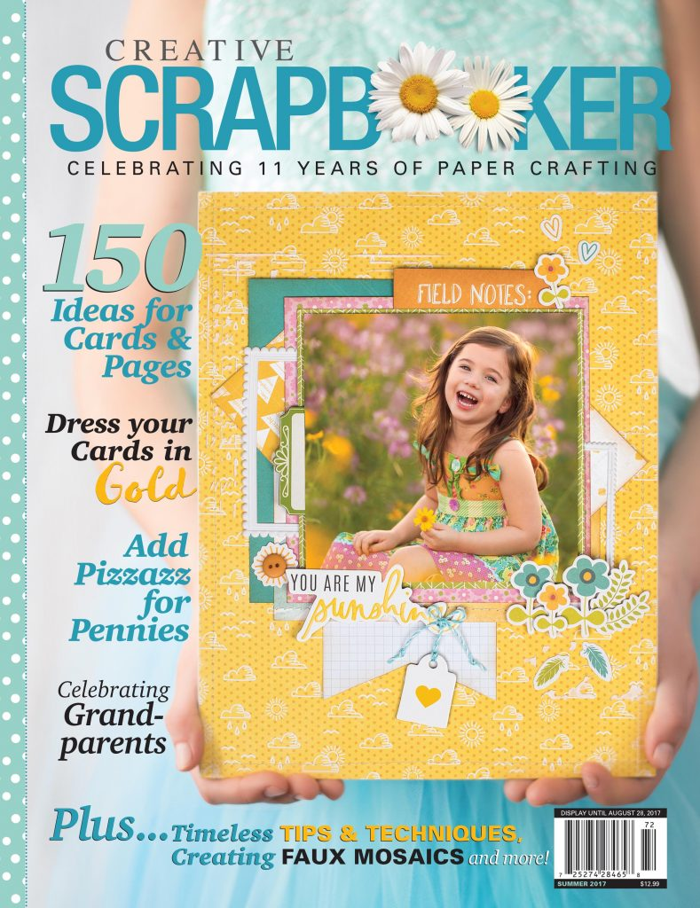 Creative Scrapbooker Magazine Giveaway by @BeckiAdams for @scrapbookexpo and @csmscrapbooker #ssbe2017 #csmscrapbooker #beckiadams #inspirationstation