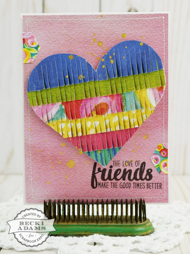 Latest & Greatest Card Making and Stamping by @jbckadams for @scrapbookexpo #cardmaking #ssbe2017 #scrapbookexpo #beckiadams
