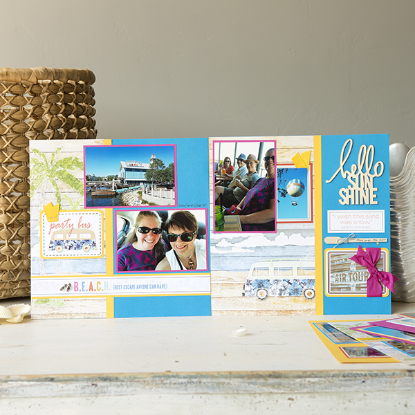 _Scrapbooking Without Scraps - Beaches