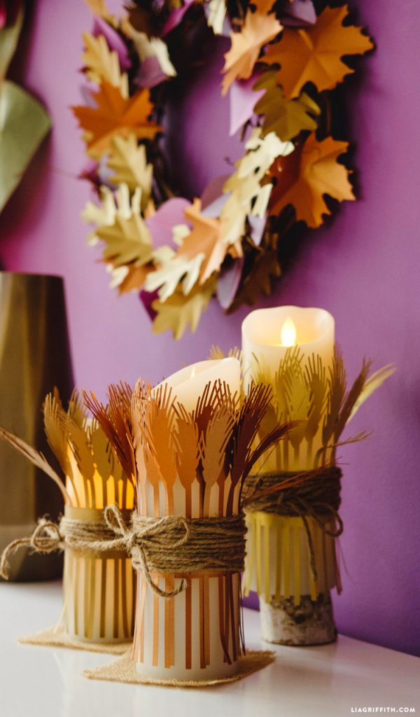 Wheat Candle Wraps