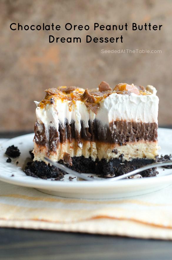 Chocolate Pudding Oreo Peanut Butter Dream Dessert