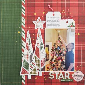 Holiday Scrapbooking with Cut files by Becki Adams for @scrapbookexpo