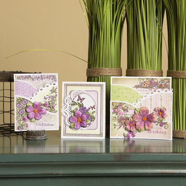 _Classic Petunia Foldout Card Class