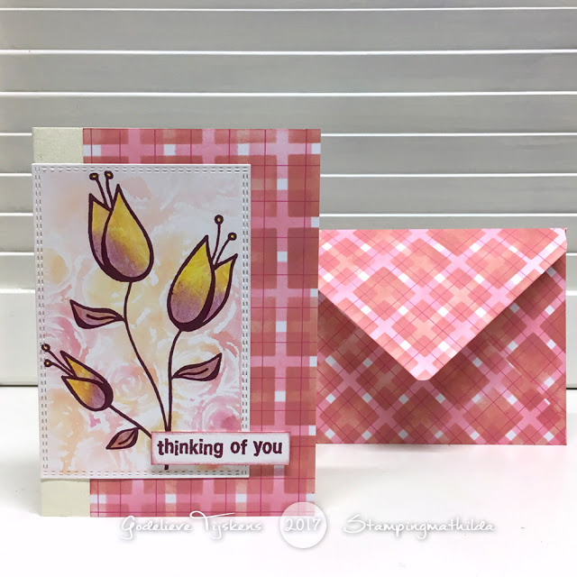 Thinking Of You Card/Envelope