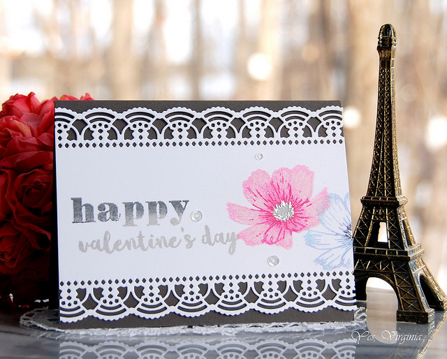 Lace Edge Card