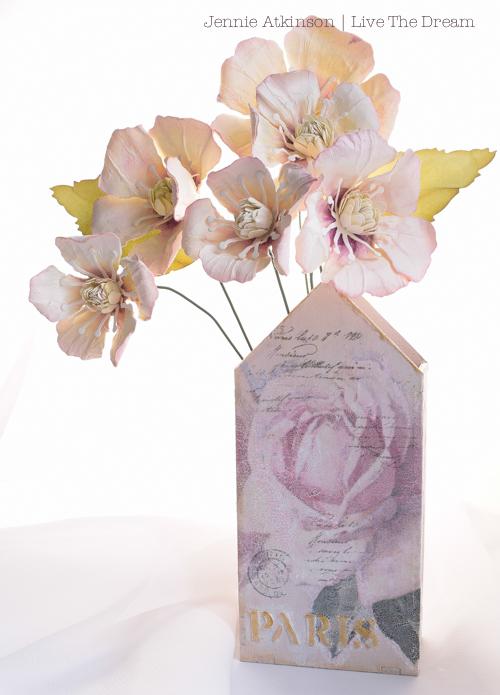 House Flower Vase