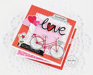 Handmade Valentines by Becki Adams for @scrapbookexpo #ssbe2018 #cardmaking #SSBEblog #handmadeValentines