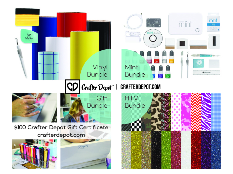 Crafter Depot Prize Bundles National Stamp & Scrapbook Month