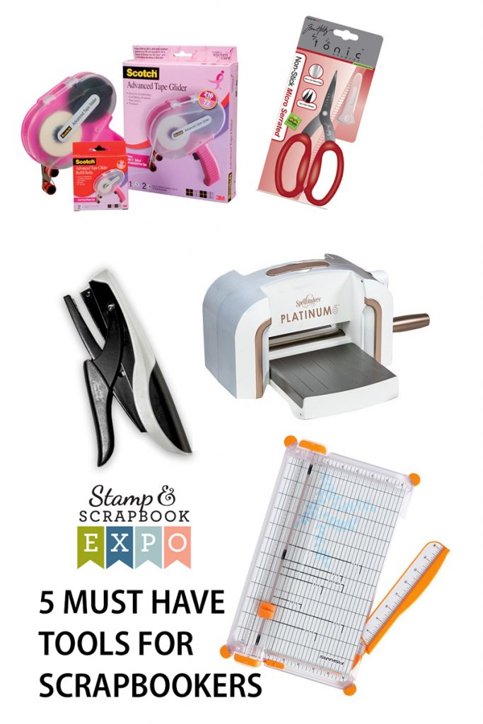 5 Must have tools for scrapbookers by Becki Adams for @scrapbookexpo #ssbe2018 #ssbeblog #scrapbooking
