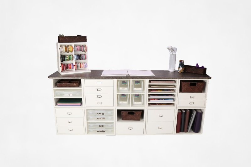 Legacy Woodcrafters 10 Cube Workstation