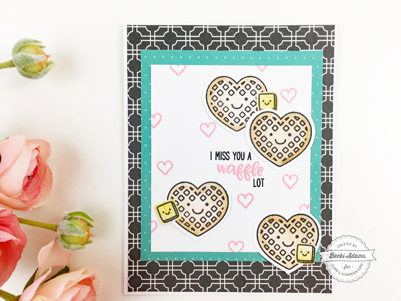 Stamping with Sunny Studio Stamps by Becki Adams for @scrapbookexpo #ssbe2018 #ssbeblog #stamping #cardmaking #sunnystudiostamps