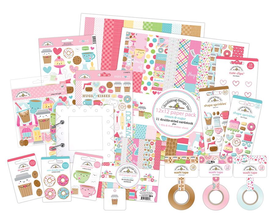 Doodlebug Design giveaway for National Stamp & Scrapbook Expo month @scrapbookexpo #ssbe2018 #ssbeblog #giveaway #doodlebugdesign