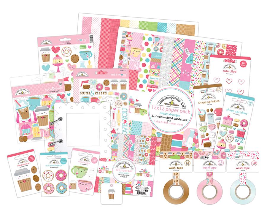 Doodlebug Design Giveaway Stamp Scrapbook Expo