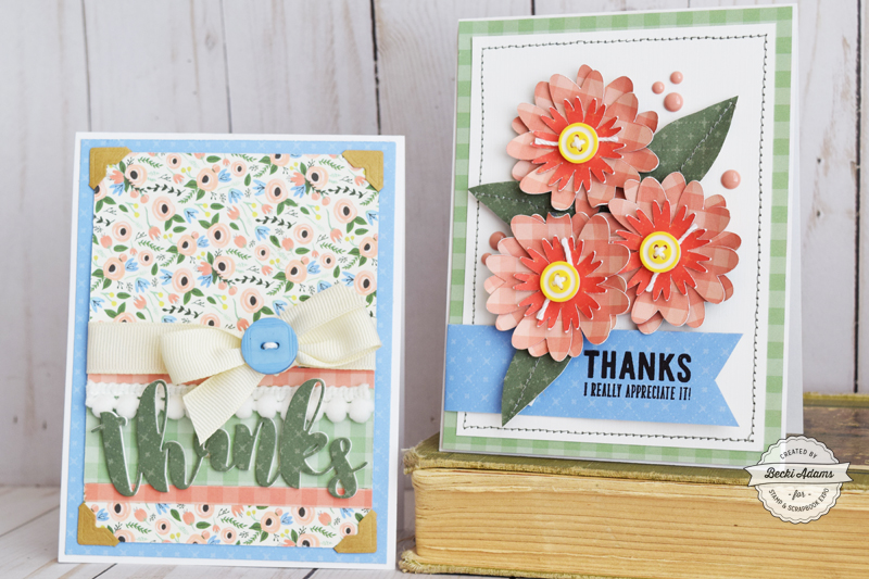 Latest & Greatest Card making with Carta Bella Paper by Becki Adams for @scrapbookexpo #cardmaking #handmadecard #ssbe2018 #ssbeblog #cartabellapaper