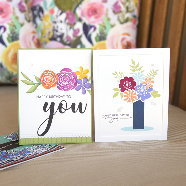 _Floral Birthday Cards