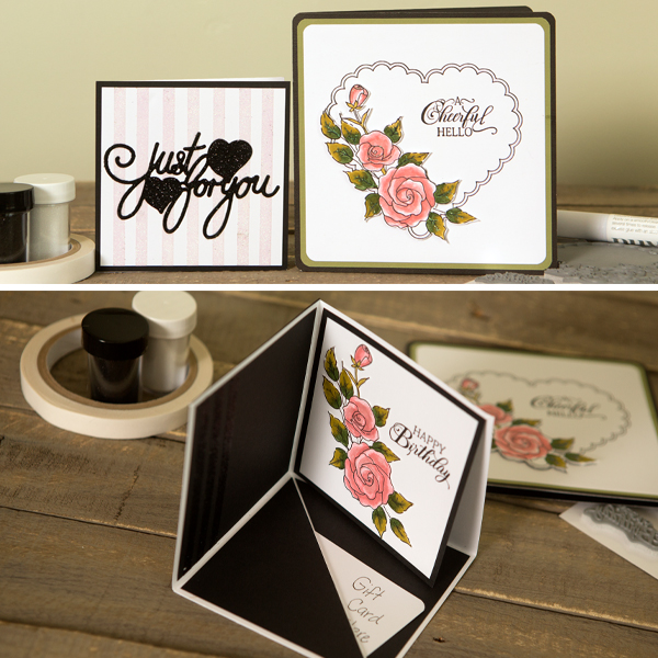 _Happy Birthday Gift Card Holder & Bonus Cards