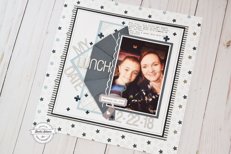 Latest & Greatest Scrapbooking with Felicity Jane by Becki Adams for Stamp & Scrapbook Expo #ssbe2018 #ssbeblog #scrapbooking #scrapbook #felicityjane