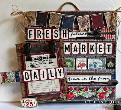 Farm Fresh Market Memo Board