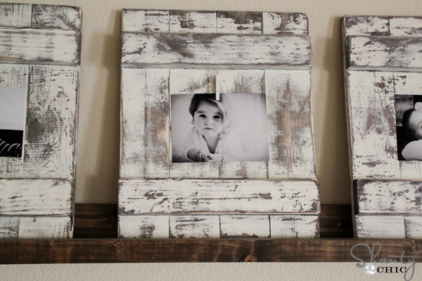 Chippy Wood Picture Frame