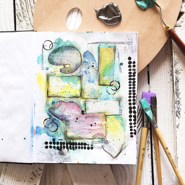 _Art Journaling – Mixed Media Journal Pages