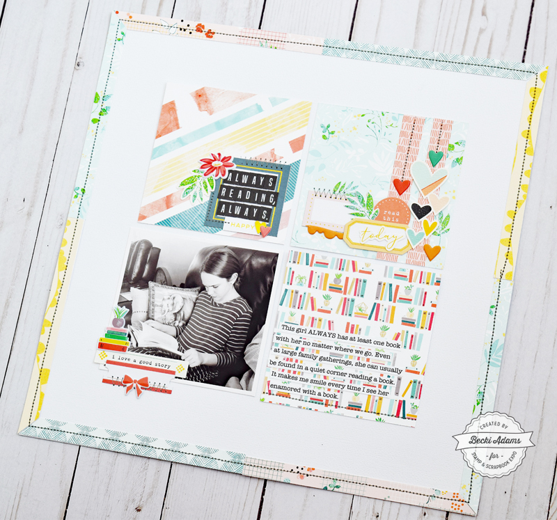 Latest & Greatest with Pink Fresh Studio by Becki Adams for @scrapbookexpo #ssbe2018 #ssbeblog #pinkfreshstudio #scrapbooking #scrapbook #scrapbookpage #makersgonnamake
